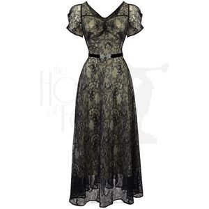House of Foxy Vivienne Evening Gown